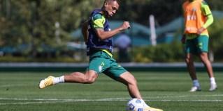 Breno Lopes exalta a estrutura do Palmeiras em sua volta aos treinos com a equipe