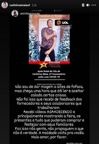 print instagram Carlinhos Maia