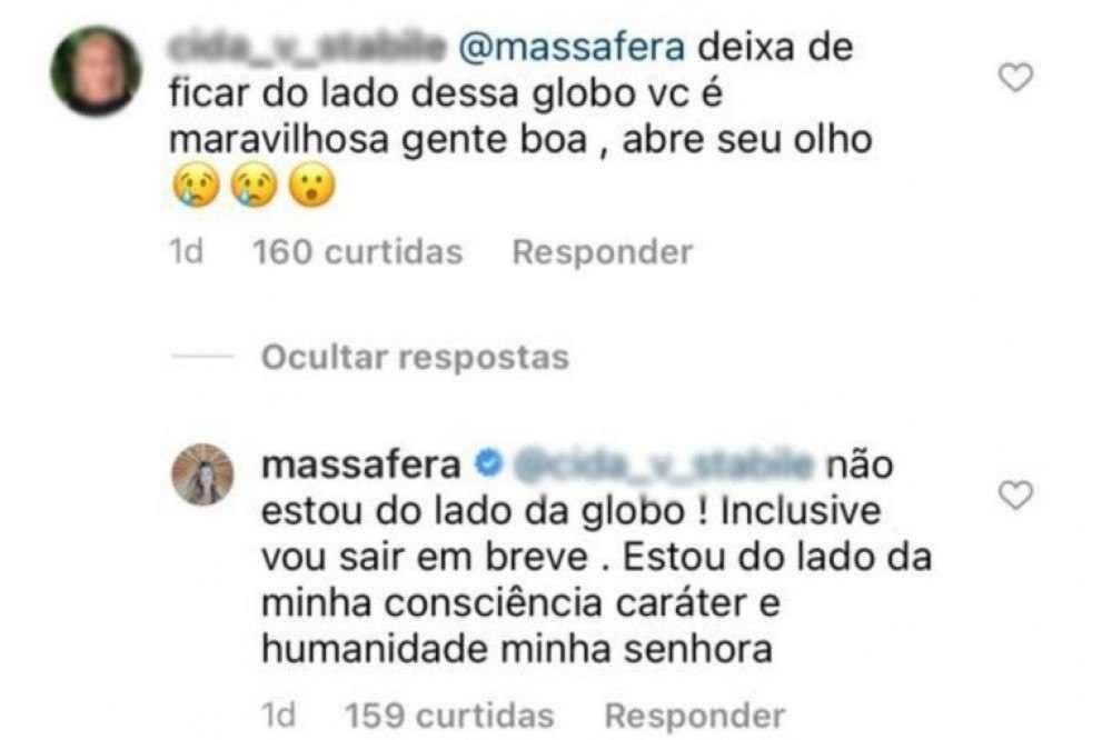 Grazi Massafera anuncia saída da Globo