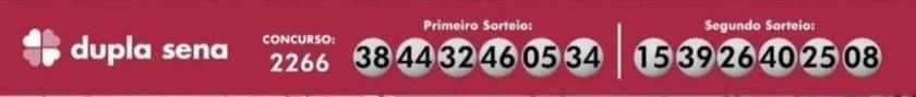 Check the numbers drawn at Dupla Sena this Thursday (26/8)