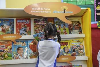 Gibitecas foram instaladas nos Centros Municipais de Educação Infantil