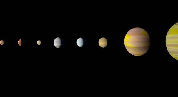 Com a descoberta do oitavo planeta em torno da estrela Kepler-90, o sistema kepler é o primeiro a se igualar ao sistema solar em número de planetas