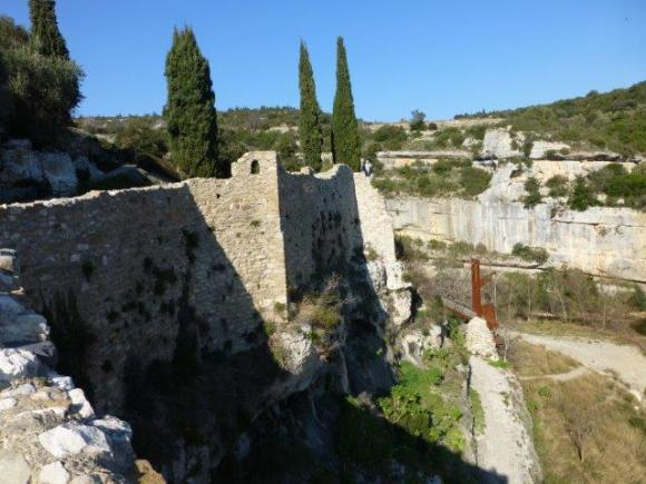 Fortifications at Minerve