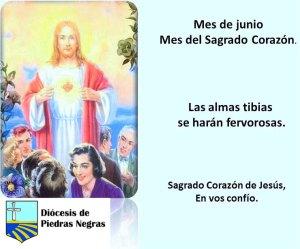 MES DE JUNIO, MES DEL SAGRADO CORAZÓN DÍA 13