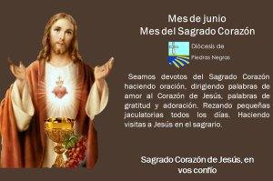 MES DE JUNIO, MES DEL SAGRADO CORAZÓN DE JESÚS DÍA 22