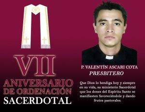 VII ANIVERSARIO DE ORDENACIÓN SACERDOTAL