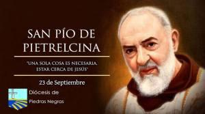 Hoy la Iglesia celebra a San Pío de Pietrelcina