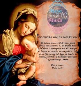 MES DE MAYO, MES DE MARÍA DÍA 18