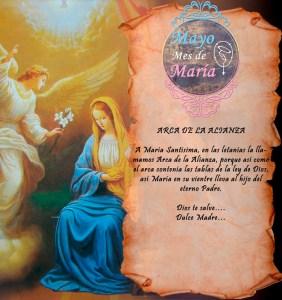 MES DE MAYO, MES DE MARÍA DÍA 19