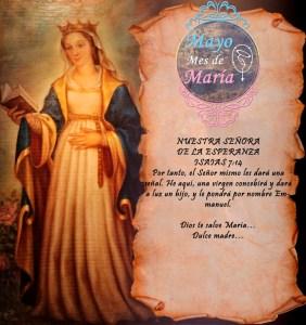 MES DE MAYO, MES DE MARÍA DÍA 29