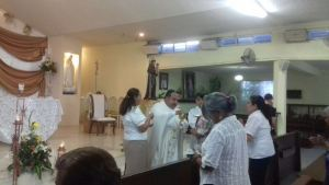 PARROQUIA SAN ANTONIO DE PADUA CELEBRA CORPUS CHRISTI
