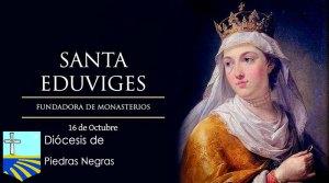 Santa Eduviges, madre de familia y fundadora de monasterios