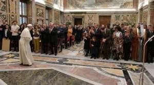 El Papa propone crear una red de fraternidad con los refugiados y migrantes