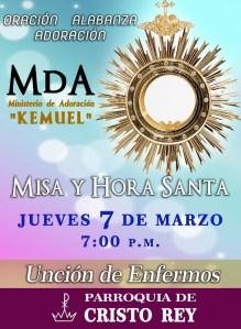 """MINISTERIO """"KEMUEL"""" INVITA A LA MISA Y HORA SANTA EN PIEDRAS NEGRAS"""