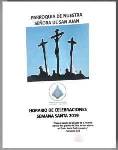 PROGRAMA DE SEMANA SANTA DE LA PARROQUIA SAN JUAN EN PIEDRAS NEGRAS
