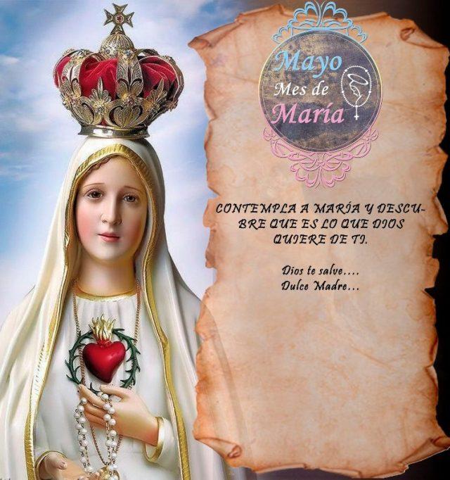 MAYO MES DE MARÍA (22 DÍA)