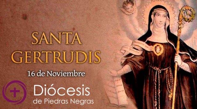 Hoy es fiesta de Santa Gertrudis, patrona de las personas místicas