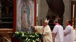Papa Francisco celebrará Misa por la Virgen de Guadalupe en el Vaticano el 12 de diciembre