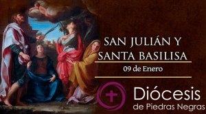 Hoy es fiesta de San Julián y Santa Basilisa, esposos en amor virginal