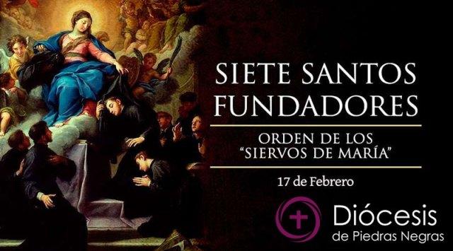 """Santos Fundadores de la Orden """"siervos de María"""""""