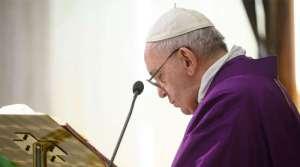VIDEO: El Papa ofrece la Misa por las personas sin hogar que no pueden refugiarse del coronavirus