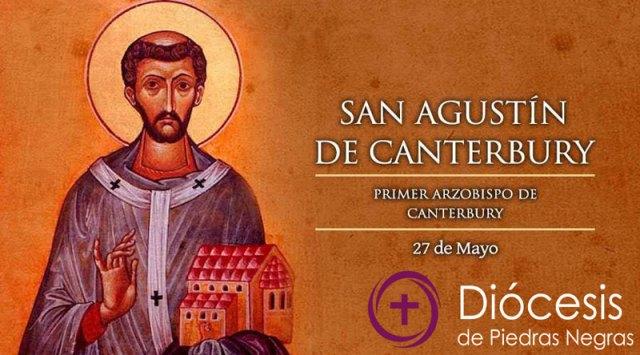 Hoy es la fiesta de San Agustín de Canterbury, el apóstol de Inglaterra