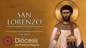 Hoy es la fiesta de San Lorenzo, diácono mártir