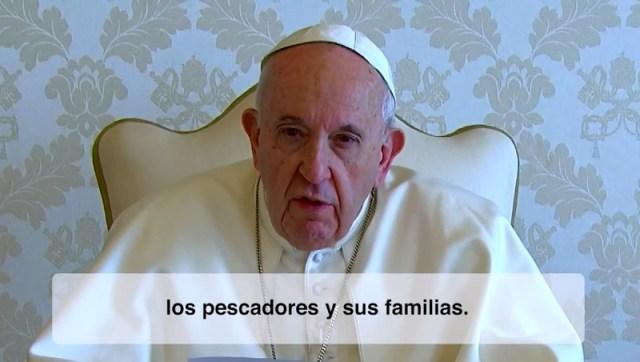 VIDEO#8 intenciones de oración 2020: El Papa pide rezar por quienes trabajan en el mar