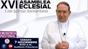 "VIDEO: MONS. ALONSO G. GARZA INVITA A LA ""XVI ASAMBLEA ECLESIAL 2020"""