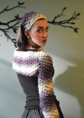Daughter of Dragons Shrug & Dragon Scale Head Kerchief