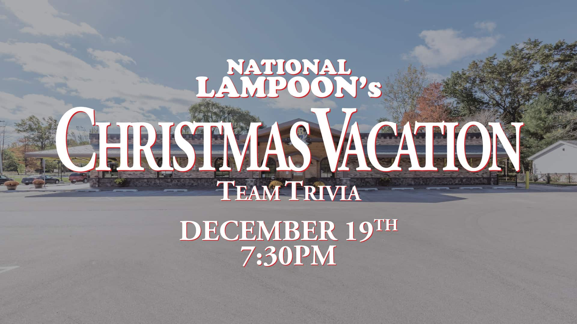 National Lampoon's Christmas Vacation Trivia Night