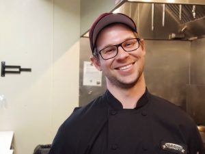Greg, Midland Brewing Company Kitchen Manager