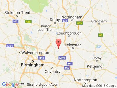 google-map-of-midland-mallard-canal-boat-holiday-hire