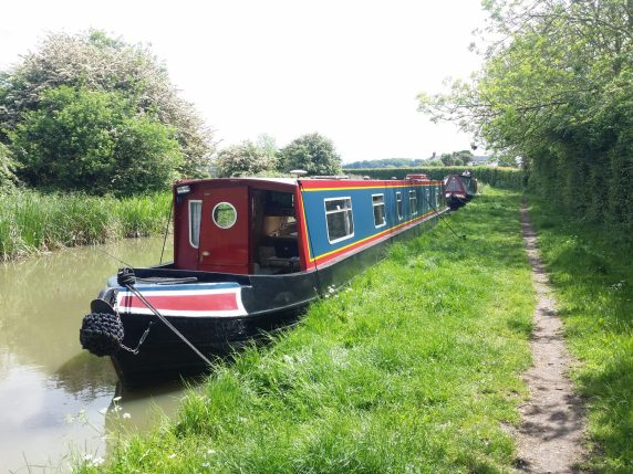 Canal barge Midlands