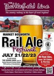 Rail ale festival market bosworth