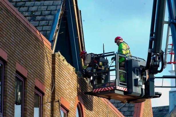 Epsom Church Street incident: Shocking images capture scene