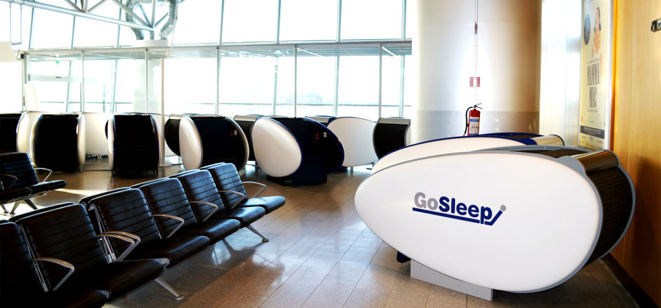 Europe's first sleeping pods to Helsinki Airport