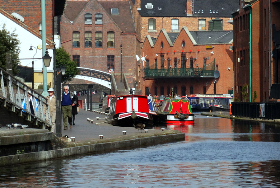 Canalways # 2: Birmingham and Fazeley Canal links