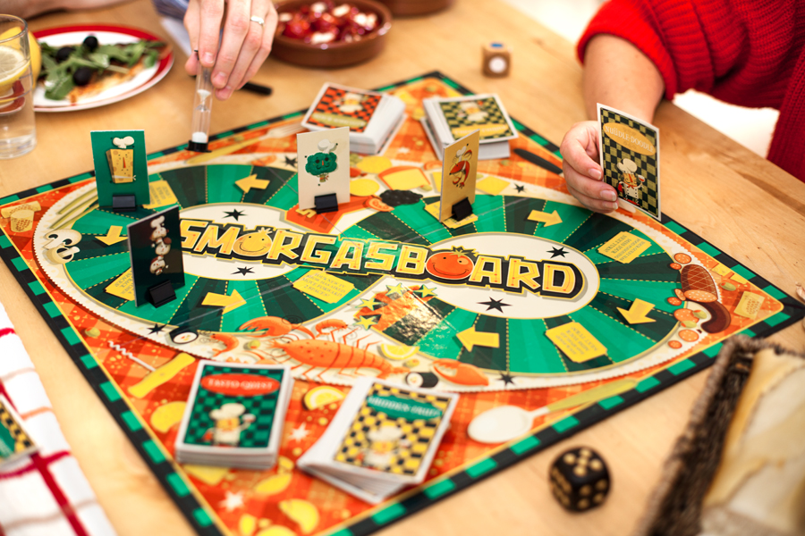 Smorgasboard– the board game for foodies
