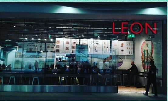 What I Ate Wednesday | Leon at New Street Station, Birmingham