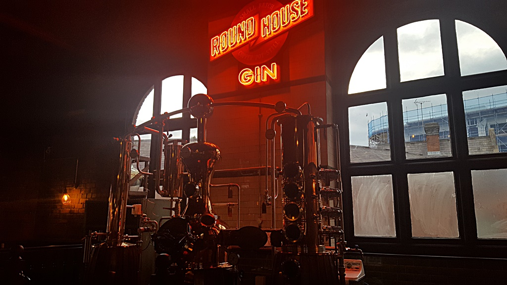 Dining & gin cocktails  The Distillery