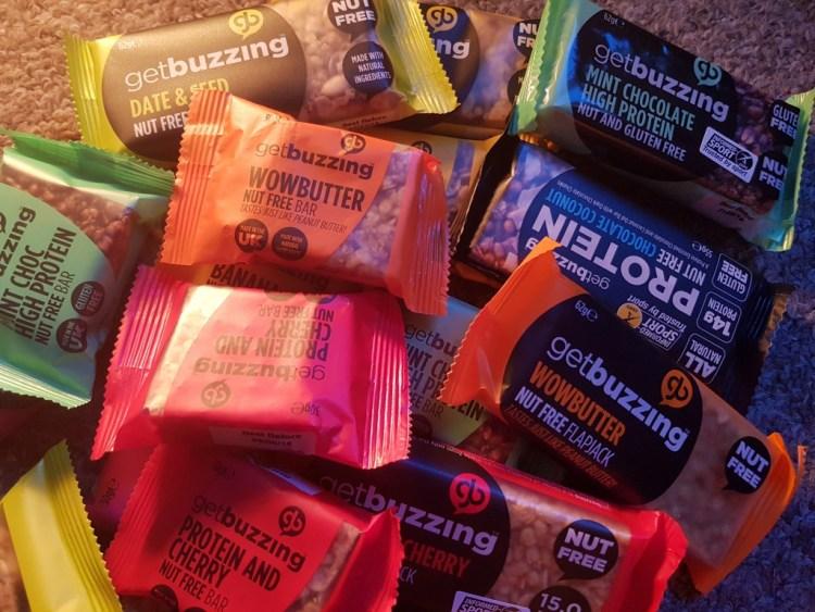 Get Buzzing – healthy snacks 100% natural