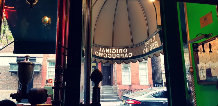 What I ate Wednesday   Café Reggio, Magnolia Bakery and The Stonewall Inn in New York