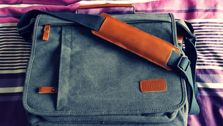 DSLR camera & laptop Messenger Bag | Estarer