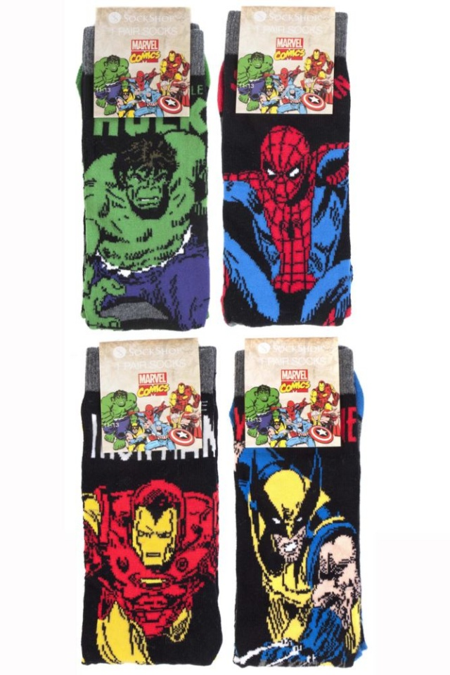 marvel socks 1