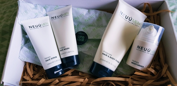 NEUÙ Seaweed Skincare for Men | My husband's Review + Giveaway