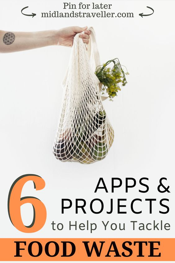 6 Apps and Projects to Help you Tackle Food Waste (1)