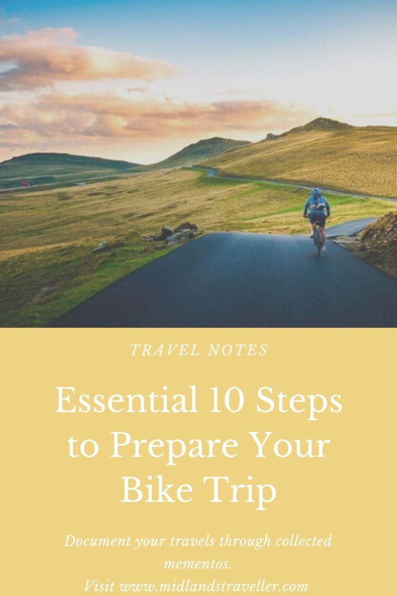 Essential 10 Steps to Prepare Your Bike Trip