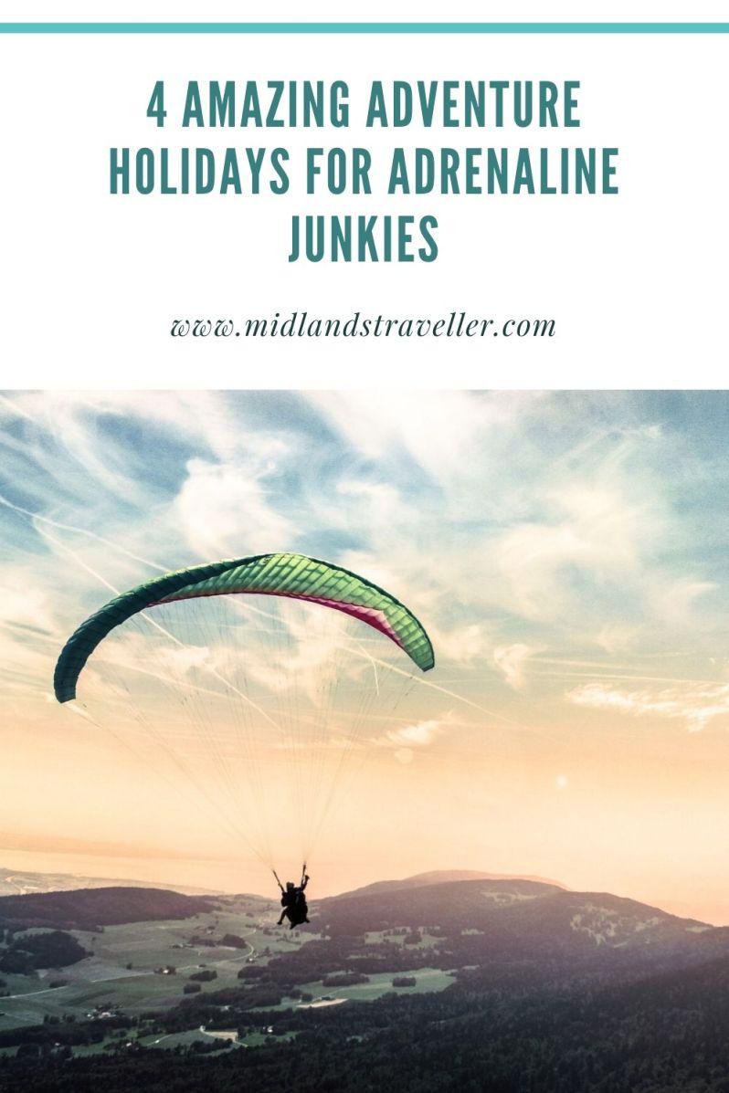 4 amazing adventure holidays for adrenaline junkies