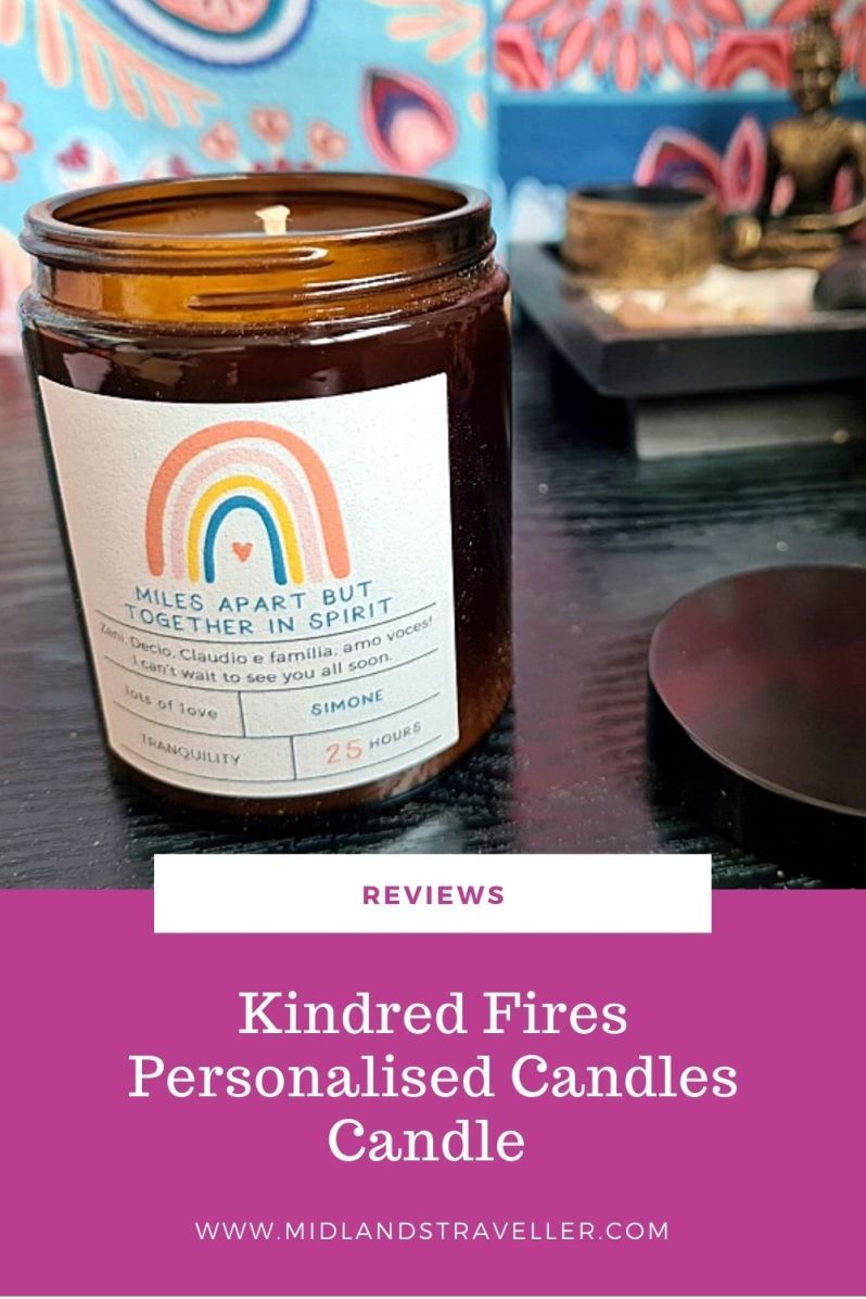 Kindred Fires Personalised Candles Candle